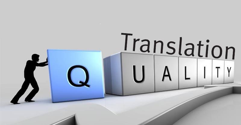 معیار اصلی برای ارزیابی ترجمه مقاله، کیفیت آن است